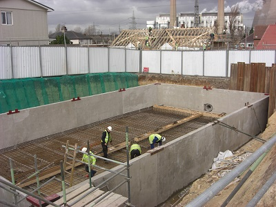 Attenuation tank in construction