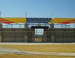 Tensioned membrane buildings are widely used for stadiums as weell as playgrounds and car parks