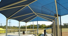 Tensioned membrane buildings can be stylish as weell as functional