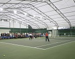 Tensioned membrane buildings are perfect for indoor leisure facilities