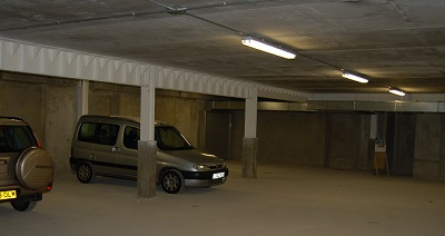 Underground car parks are common basement structures