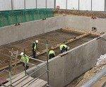 Attenuation tank in construction