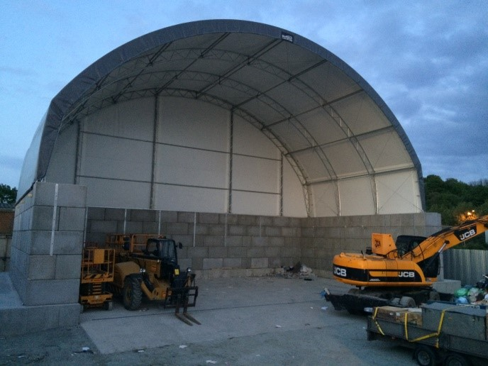 Picture of the finished MRF at Charlton